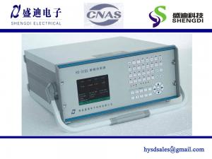 China 3 Meters HS-3103 Single-Phase Energy Meter Test Equipment,Portable Mode,Current Max.120A ,Voltage 20~300V. on sale