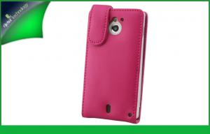 China Ultra Slim Smart Mobile Phone Vertical Leather Cases , Sony Xperia Sola MT27i Case on sale