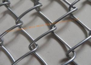 China Galvanized Iron Wire Wire Mesh Fence Diamond Diamond Hole For Protecting Mesh on sale