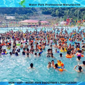 Quality 6000 Sqm Big High Hurricane Wave Pool Vacuum Machine For Water Park Equipment for sale