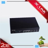3Giga SFP Slots + 4 10/100/1000M Fiber Optic Ethernet Conveter RJ-45 Ports