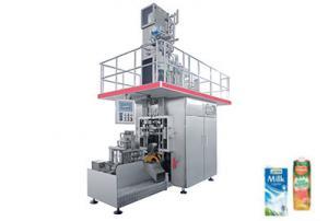 China Complete UHT Milk Beverage Packaging Machine Aseptic Brick Shape on sale