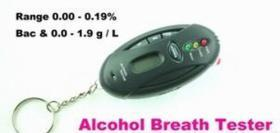 China LCD Alcohol Breath Tester on sale