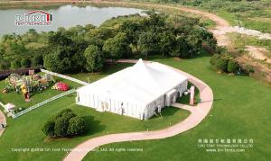 China 500 People High Peak Outdoor Party Tent for Temporary Wedding Party on sale