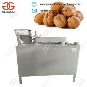 China Factory Price Black Walnut Cracking Shelling Hulling Machine Price For Sale on sale