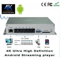 UHD H.265 4K Digital Signage Player 1080p USB Media Player Embedded ARM Mali-450 4P 3D GPU