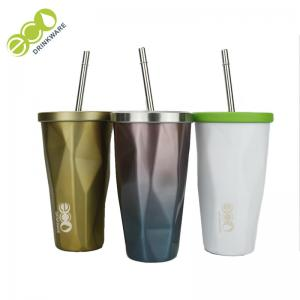 China Classic Tumbler Coffee Mug / Personalized Tumbler Cups With Lids And Straws on sale