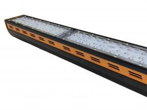 China Industrial 100 Watt Linear Suspended LED Lighting Anti - Electrostatic Power Coating  on sale