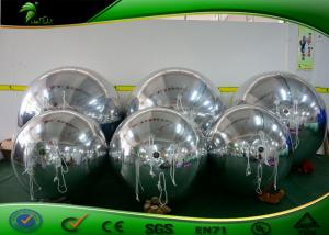 China Strong PVC Advertising Inflatable Mirror Balloon / Mirrored Ball For Party on sale