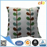Home Decor Decorative Throw Pillows , Imitated Silk Baroque Printed Throw Pillow Covers