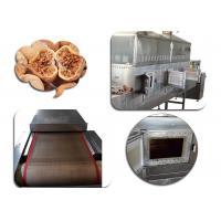 Fast Food Sterilization Equipment , Figs Microwave Drying And Sterilization Machine