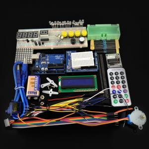 China UNO R3 Starter Kit for Arduino with 1602 LCD Servo Step Motor Breadboard LED on sale