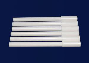 China ZrO2 / Zirconia Ceramic Bar Ceramic Impeller Shaft For Pump High Precision on sale