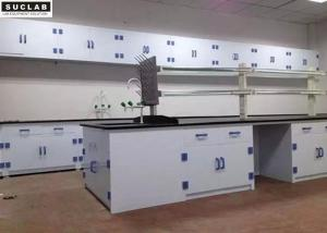 China PP Dental Chemical Lab Furniture Work Benches 8 - 10mm Thickness Benchtop on sale