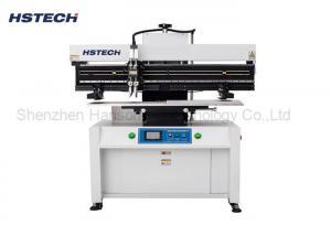 China 1.2M LED Tube PCB Solder Paste Stencil Printing Machine Semi Auto Operation 100W on sale