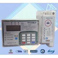 35mm Din Rail Electric Meter Power Line Carrier Prepayment Electricity Meter
