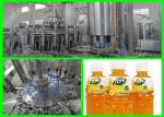 Automatic Fresh Fruit Juice Filling Machine / Hot Filling Plant 350ml - 2000Ml±10ml