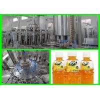 Automatic Fresh Fruit Juice Filling Machine / Hot Filling Plant 350ml - 2000Ml±10ml