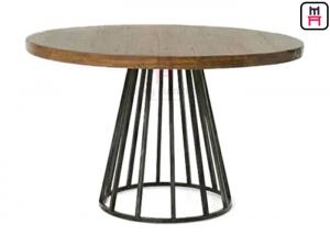dc5fe23349df ... Quality Commercial Metal Table Bases For Wood Tops , Round Dining Table  Metal Base for sale ...