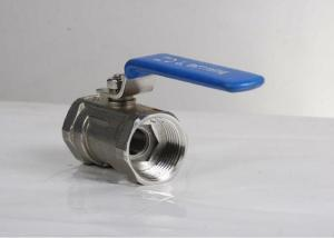 China 2 Inch Sanitary Ball Valves Stainless Steel Material For Production Pipeline on sale