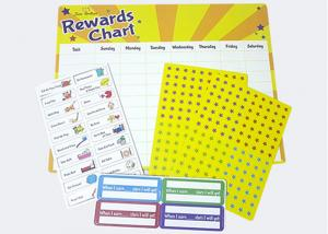 China Behavior Chores Dry Erase 17 X 13 Magnetic Reward Chart on sale