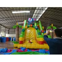 cheap infatable slide with slide/commercial inflatable slide for sale