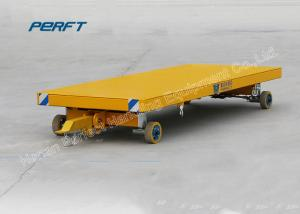 China Yellow Non - power Towed Heavy Duty Plant Trailer Truck Long Life on sale