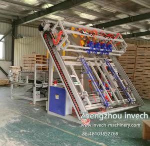 China Semi-automatic US Wood Pallet Nailing Machine with Stacking Machine on sale