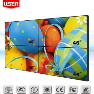 China Video Wall Controller 2x2 Advertising Screen LCD Video Wall Player on sale