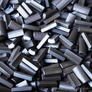 China Servo motors magnets without coating of neodymium-iron-boron material on sale