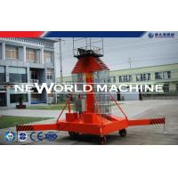 4 - 35m 200kg Elevated Work Platform / Electric Aerial Lift Safety