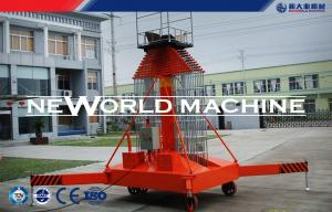 China 4 - 35m 200kg Elevated Work Platform / Electric Aerial Lift Safety on sale