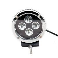 5.5 Inch Round Car LED Headlights Black Aluminum Housing 40 Watt 30 Volt