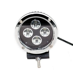 China 5.5 Inch Round Car LED Headlights Black Aluminum Housing 40 Watt 30 Volt on sale