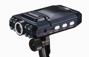China 2,5 enregistreur de la voiture DVR nocturnes de carte de l'écart-type MMC de pouce de la vision 1280 * 960 on sale