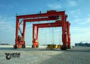 China Logistics Transportation Container Gantry Crane Container Lifting Crane on sale