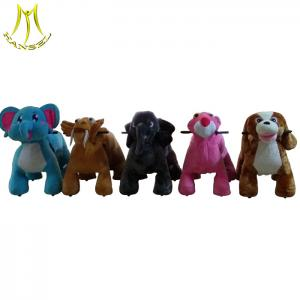 China Hansel entertainment children ride stuffed animal ride electric for sale on sale