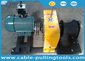 China Heavy Duty 8 Ton Wire Rope Cable Winch Puller With Electric Engine on sale