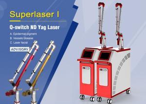 China Big Spot 1064nm Q Switch Nd Yag Laser Tattoo Removal / Skin Rejuvenation Machine on sale