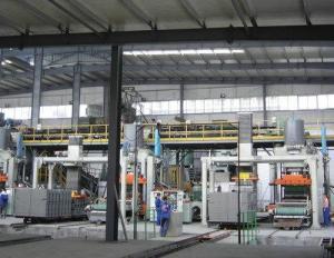 China Auto AAC Bricks Making Machine , AAC Block Equipment German Technology on sale