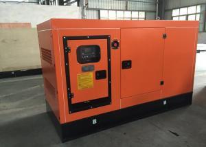 China 32KW / 40KVA Silent Diesel Generator Ventilation System Stamford Alternator on sale