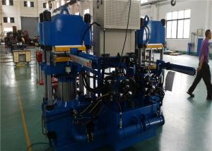 China Dual Stations 4 Columns Vacuum Pump Vulcanizing Machine For Silicone Rubber Parts on sale