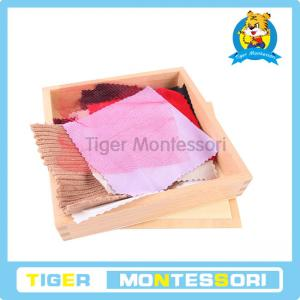 China Montessori sensorial materials,wooden toys,educational toys for kids-Fabric Box on sale