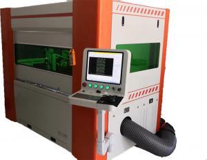 China High Presision CNC Fiber Laser Cutting Machine 600*1200mm Small Size on sale