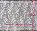 Équilibre décoratif blanc de dentelle de cil avec la largeur CY-HB0460 de 80cm