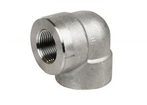 China Precision Metal Compression Fittings 3000 lb Forged Stainless Steel Fittings on sale