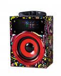 Portable mini  wooden gift Wireless Super Bass Sound Bluetooth multicolor Speaker