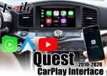 Interfaz auto de YouTube Waze Google Map Android Carplay para la búsqueda de Nissan 2012-2018