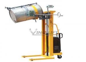 China OEM Drum Transport Equipment Battery Powered Lifting and Hand Manual Rotation on sale