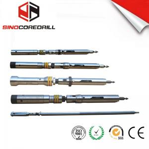 China 5ft / 10ft Diamond Double Tube Wireline Core Barrel System CE ISO 9001/2008 on sale